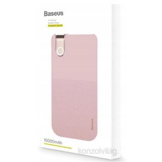 Baseus Thin 10000mAh vezeték nélküli pink power bank