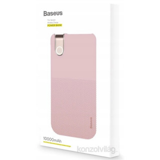 Baseus Thin 10000mAh vezeték nélküli pink power bank Mobil