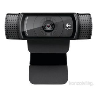 Logitech C920 1080p mikrofonos fekete webkamera PC