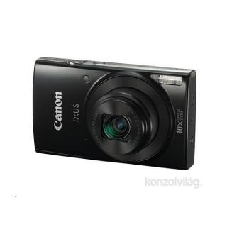 Canon IXUS 190 fekete digitális fényképezőgép Fotó, videó