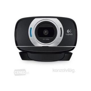 Logitech C615 mikrofonos fekete webkamera PC