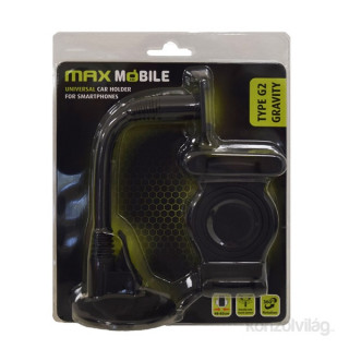 Max Mobile Type G2 Gravity Flex univerzális szélvédőre helyezhető autós mobiltartó Mobil