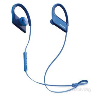 Panasonic RP-BTS35E-A kék vízálló Bluetooth sport fülhallgató headset Mobil
