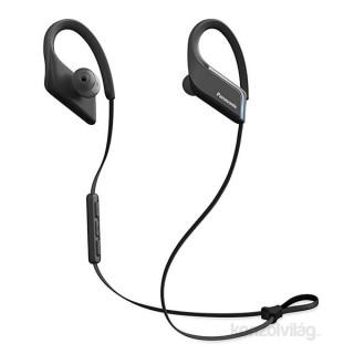 Panasonic RP-BTS55E-K fekete vízálló Bluetooth sport fülhallgató headset Mobil