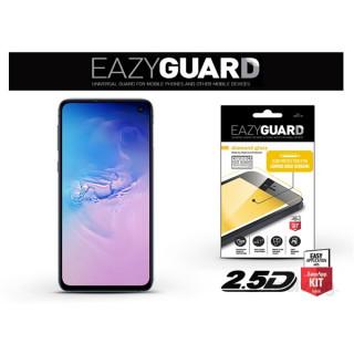 EazyGuard LA-1454 Samsung S10e fekete 2.5D üveg kijelzovédo fólia