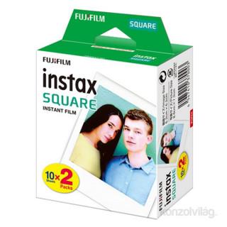 Fujifilm Instax Square fényes (10x2/doboz) 20 db képre film Fotó, videó