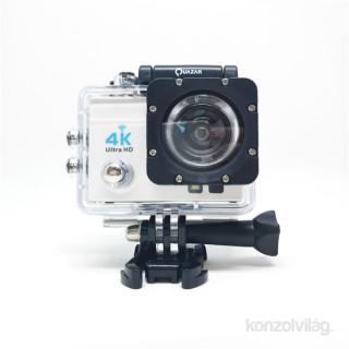 Quazar Blackbox UltraHD 4K fehér sport és akciókamera Fotó, videó