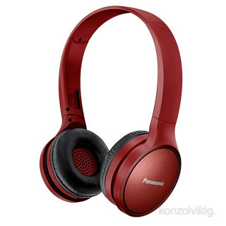Panasonic RP-HF410BE-R bordó Bluetooth fejhallgató headset PC
