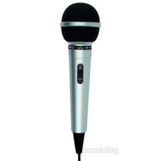 Sal M 41 ezüst kézi mikrofon