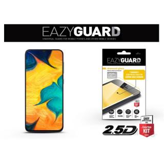 EazyGuard LA-1456 Samsung A50/A20/A30 fekete 2.5D üveg kijelzővédő fólia Mobil