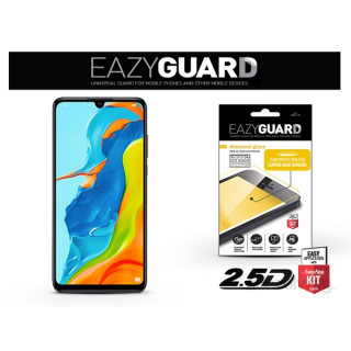 EazyGuard LA-1463 Huawei P30 Lite fekete 2.5D üveg kijelzővédő fólia Mobil