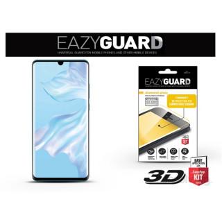 EazyGuard LA-1464 Huawei P30 Pro fekete 2.5D üveg kijelzővédő fólia Mobil
