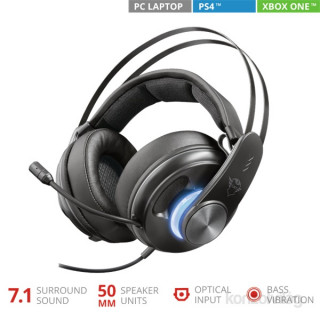 Trust GXT 383 Dion 7.1 gamer USB headset PC