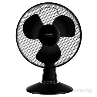 Sencor SFE 4021BK fekete asztali ventilátor