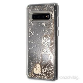 Guess Samsung S10 Plus új csillám szívek tok Mobil