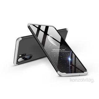 GKK GK0459 3in1 Huawei P30 Pro fekete-ezüst három részből álló védőtok Mobil