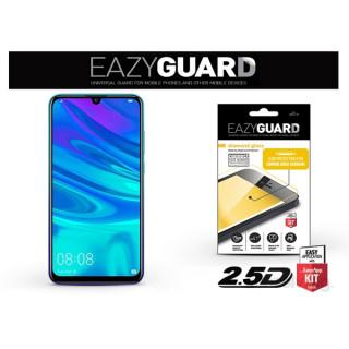 EazyGuard LA-1440 Huawei P Smart 2019 fekete 2.5D üveg kijelzővédő fólia