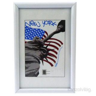 Dörr New York 10x15 fehér képkeret Fotó, videó