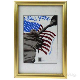 Dörr New York 13x18 arany színű képkeret Fotó, videó