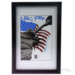 Dörr New York21x29,7 (A4) fekete képkeret Fotó, videó