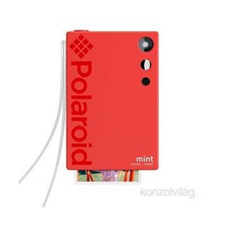 Polaroid Mint P-POLSP02R piros instant fényképezőgép és fotónyomtató
