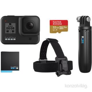 GoPro HERO8 Black Bundle akciókamera csomag Fotó, videó