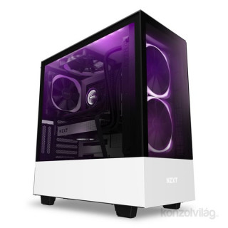 NZXT H510 Elite Fehér (Táp nélküli) ablakos ATX ház PC