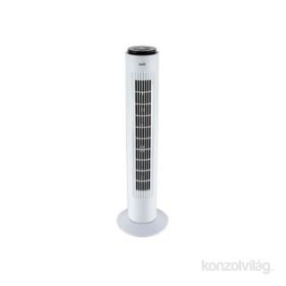 Home TWFR 74 fehér távirányítós oszlopventilátor