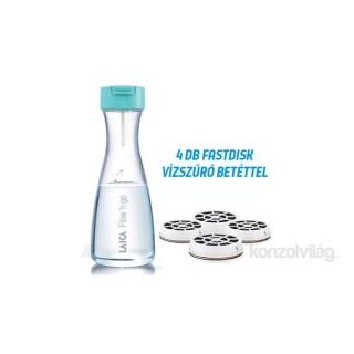 Laica B01AA01 Flow and Go 1L 1+3 vízszűrőbetétes vízszűrő palack promóciós szett Otthon