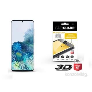EazyGuard LA-1615 Samsung S20 fekete 3D kijelzővédő üveg