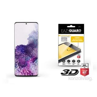EazyGuard LA-1616 Samsung S20+ fekete 3D kijelzővédő üveg