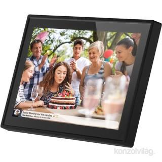 Sencor SDF 1090B WiFi digitális képkeret Fotó, videó