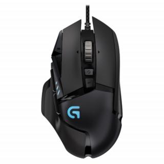 Logitech egér G502 Gaming Mouse Black USB PC
