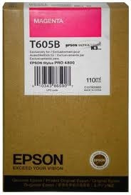 Epson bíbor tintapatron, T605B00 PC