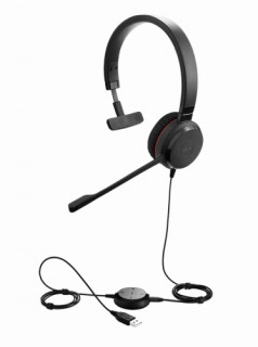 Jabra EVOLVE 30 II UC Mono USB Headband, Noise cancelling, USB and 3.5 connectiv PC