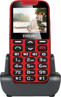 EVOLVEO EasyPhone XD-EP-600 - Piros Mobil
