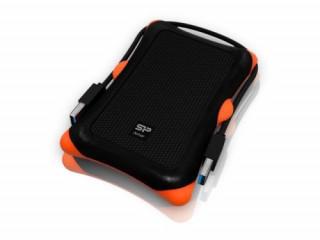 Silicon Power Külső HDD keret - A30, USB 3.0, Ütésálló Black PC