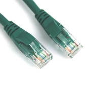 VCOM kábel UTP CAT6 patch 1m, zöld PC
