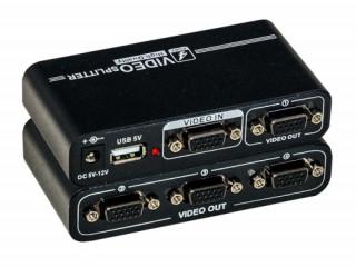 Rainbow VGA + audio (3,5Jack) distributor 4 PC