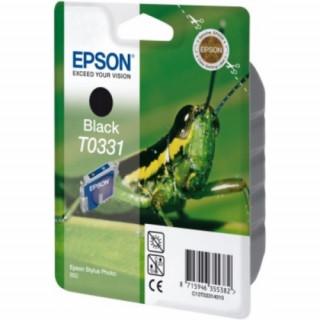 Epson fekete tintapatron, 1 darab, T0331 PC
