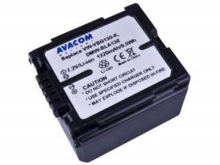Avacom utángyártott digitális fényképezőkhöz akkumulátor, Panasonic VW-VBG130, D Fotó, videó