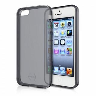 ITSKINS ZERO GEL. Apple iPhone SE / 5S / 5 ütésálló tok-1méteres esésig véd, fek Mobil