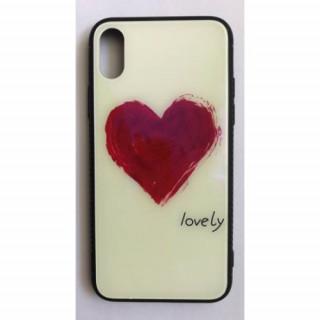 BH680 Telefon tok BLU-RAY Üveg Heart Samsung S8 Mobil