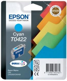 Epson cián tintapatron, 1 darab, T0422 PC