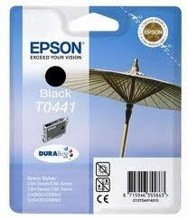 Epson fekete tintapatron, 1 darab, T0441, DURABrite tinta PC