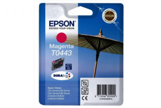 Epson bíbor tintapatron, 1 darab, T0443, DURABrite tinta, nagykapacitású PC