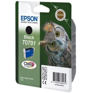 Epson világos cián tintapatron, 1 darab, T0795, Claria fotó tinta PC
