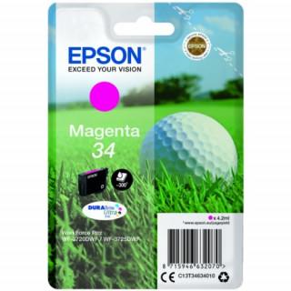 Epson tintapatron Singlepack Magenta 34 DURABrite Ultra Ink PC