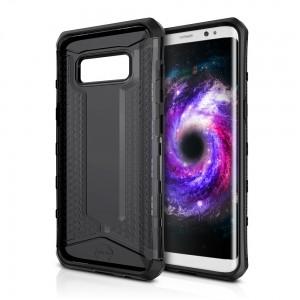 ITSKINS OCTANE. Samsung Galaxy S8 ütésálló tok- 2méteres esésig véd, fekete Mobil