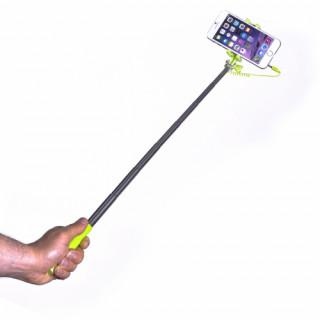 Celly mini selfie bot, jack csatlakozós, zöld